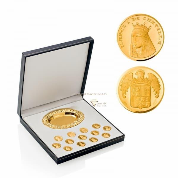 arras de boda de oro